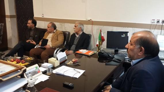 جلسه مشترک دانشگاه آزاد اسلامی مرکز هرسین و بخشداری بیستون درخصوص ارتباط صنعت و دانشگاه