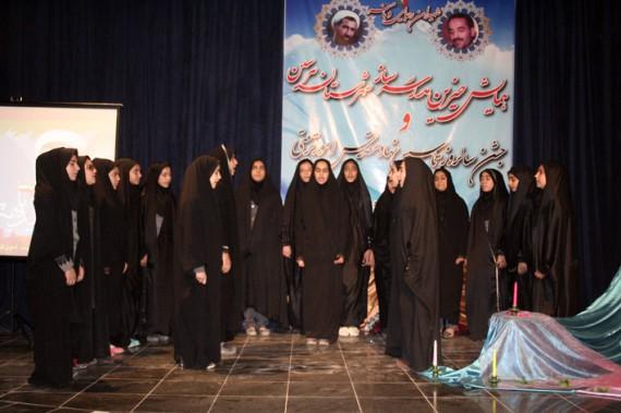 مراسم تجلیل از خیرین مدرسه ساز و مربیان پرورشی شهرستان هرسین برگزار شد