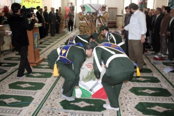 يادواره شهدای شهرستان هرسين برگزار شد+تصویر