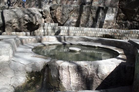 سراب هرسین یکی از مناطق نمونه گردشگری شهرستان+تصویر