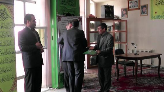 مراسم تودیع و معارفه مدیر جهاد کشاورزی شهرستان هرسین برگزار شد