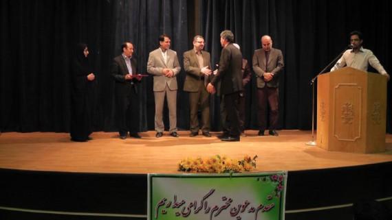 مراسم تودیع و معارفه رئیس اداره ارشاد اسلامی هرسین+عكس