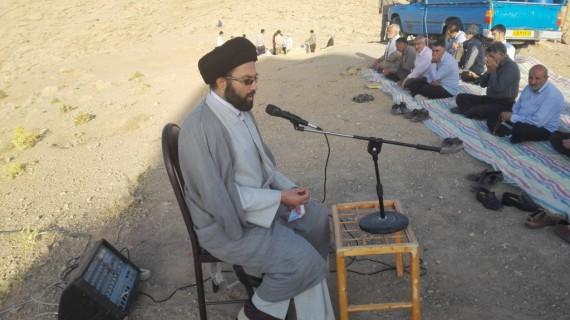 مراسم روح بخش دعای ندبه در هرسین برگزار شد+تصویر
