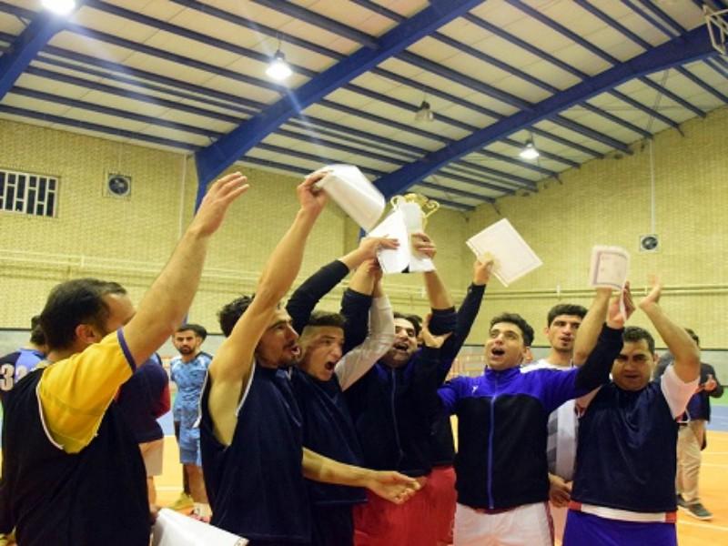 پایان پنجمین دوره مسابقات فوتسال جام نوروزی در هرسین