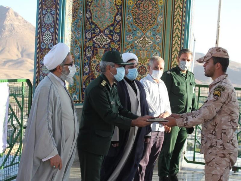 مراسم روز سرباز در هرسین برگزار شد