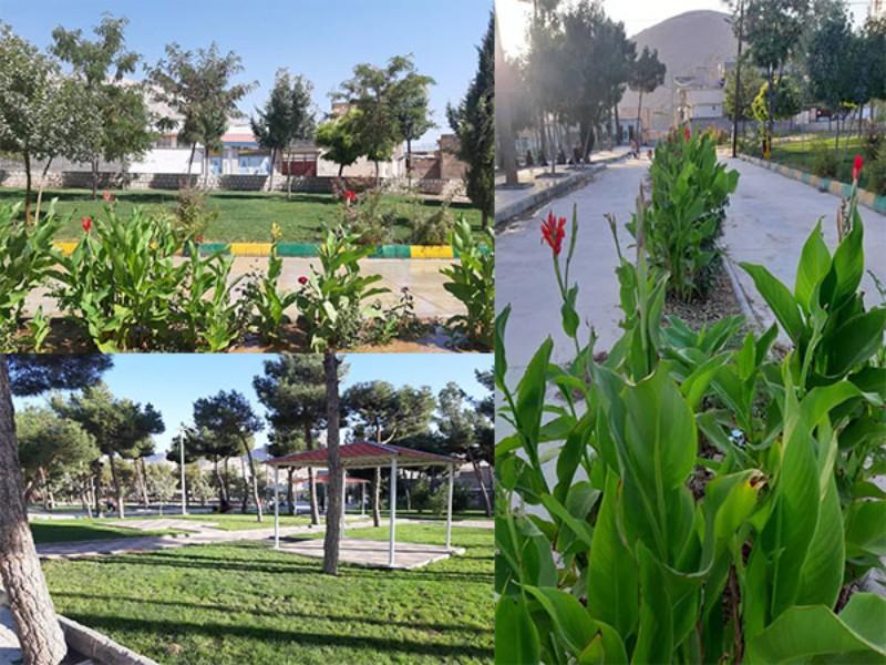 فاز اول پروژه پارک بانوان هرسین به بهره برداری رسید/ پیگیری جهت احداث مرکز خدماتی بانوان و نصب روشنایی معابر